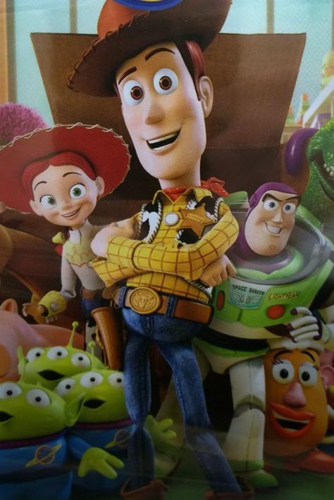 Toy Story cast on DVD